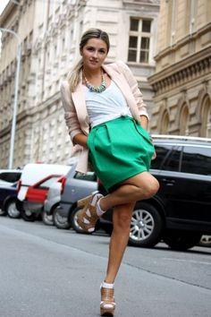 Cute skirt and blazer