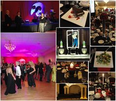 """The Music of the Night"" Phantom of the Opera themed formal fundraiser"