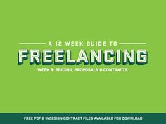Freelance Contract Templates - FREE Download by Peter Deltondo