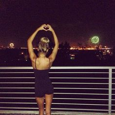 Happy New Year everyone! The ocean view fireworks from my home to yours ❤ - @Pia Mia- #webstagram
