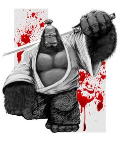 GSTATUS: Gorilla Bushido on Behance