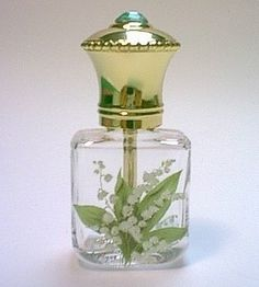 Lily of the Valley Scent Bottle.. This was my first perfume, as a teenager.