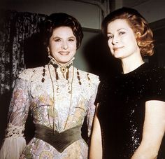 two amazing, wonderful, extraordinary, beautiful and other countless good adjectives women Ingrid Bergman and Princess Grace