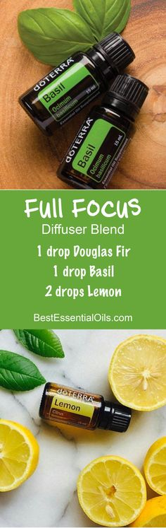 Full Focus doTERRA Diffuser Blend