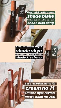 Eye Makeup Brushes, Skin Makeup, Lipstick Guide, Soft Natural Makeup, Beauty Video Ideas, Lip Makeup Tutorial, Makeup List, Skin Care Routine Steps, Creative Eye Makeup