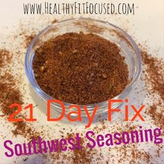 Clean eating taco seasoning, 21 day fix seasonings