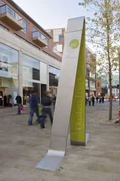 Cabot Circus by Woodhouse - Monument Sign