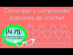 (210) Aprende a Leer los Patrones Gráficos / Crochet desde el inicio / Clase # 8 - YouTube