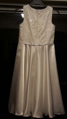 Keira's communion dress
