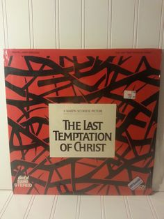 "Movie - ""The Last Temptation of Christ""- Laser Disc by TheWindingGarden on Etsy"