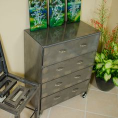 Steel Furniture Dressers   Made in America   Boltz Steel Furniture