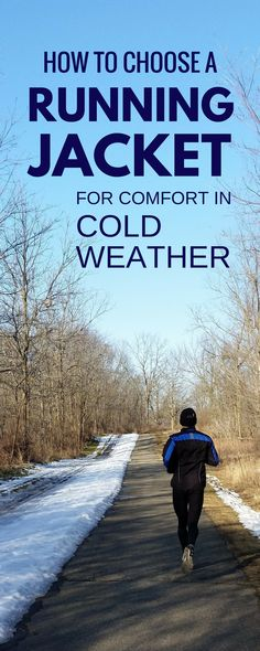 What winter running clothes to wear? Best running jackets for cold weather running gear. Running tips for beginners for outfit. Good jacket important part of training plan essentials to get with layers, headband, beanie, hat, shoes, pants, thermal tights, leggings, wool socks. Running accessories for women and men. #running #runningtips