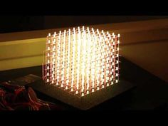 Arduino at it's LED Shine! How To RGB 8x8x8 LED CUBE - DEMO!