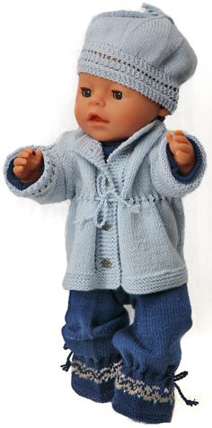 Knitting patterns for american girl dolls - knit tough fashion for your doll