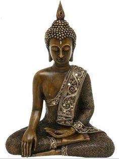 Un Buda flaco :P En tonos como este o piedra, oscurito.