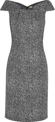 Michael Kors ● wool-tweed dress