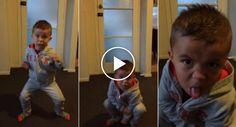 Menino De 3 Anos Tenta Dançar o Haka Para a Avó No Dia Do Seu Aniversário