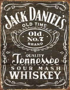 Jack Daniels - Woodcut Logo Tin Sign - at AllPosters.com. Choose from over 500,000 Posters & Art Prints. Value Framing, Fast Delivery, 100% Satisfaction Guarantee.