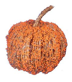 Pumpkin Boutique Medium Decorative Pumpkin-Orange Berry Grapevine