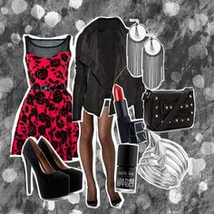 Pretty in Punk by sarahlizmulligan on Polyvore