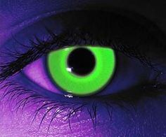 Be the coolest kid at the rave with these glow in the dark contact lenses. Available in regular or prescription form, these trippy contact lenses will glow a neon green color when exposed to a black light, making them ideal for raves and Halloween parties.  Buy It  $28.95