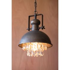Industrial Fashionista Pendant - In Style: Vintage Chic Bathroom Collection - Dot & Bo