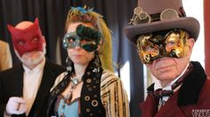 Steampunk masquerade for Steamworks and Shadows.