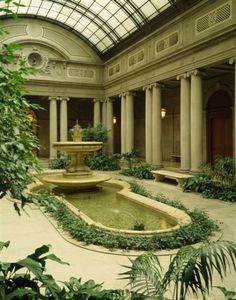 garden court at the frick museum - Google Search
