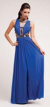 Royal Blue Prom Dress Royal Blue Cocktail Dress Blue Bridesmaid Gown