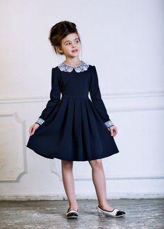 Школьная форма и пальто Alisia Fiori #KidsFashion