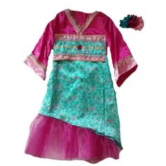 Dress for Less! These BNWT Girls ORIENT... have just arrived at super-cool-gifts, grab some quick!  http://supercoolgifts.myshopify.com/products/bnwt-girls-oriental-kimono-dressing-up-costume-pink-green-3-12-yrs-ex-ladybird?utm_campaign=social_autopilot&utm_source=pin&utm_medium=pin #freep&p #bargain