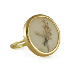 dendritic agate ring...stunning, delicate, organic goodness.