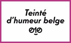 """Carton 24h01 """"Humeur belge"""""""