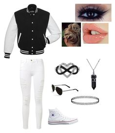 """""""Untitled #23"""" by shea-sampey on Polyvore featuring Frame Denim, Jewel Exclusive, Converse, Bling Jewelry and Calvin Klein"""