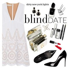 """""""What to Wear: Blind Date"""" by bklana ❤ liked on Polyvore featuring Bobbi Brown Cosmetics, STELLA McCARTNEY, Dolce&Gabbana, Marni, MAC Cosmetics, Giorgio Armani, Lipstick Queen, Marc by Marc Jacobs, blinddate and bklana"""