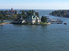 Helsingin edustalla...