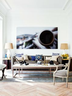 An apartment full of style in Madrid
