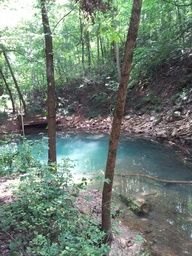 Blue Hole at Lost River Cave and Valley, Bowling Green, KY < this was so cool!