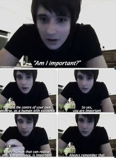 Always The Leader Of Internet Support Group Dan Howell