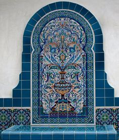 Moroccan designs with mirrors mosaic - Google Search