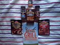 My McCormick's Grill Mates Cookout - Bacon Molasses and Slow & Low Memphis Rub...yum!