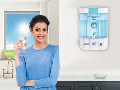 Get the supplied water purified through RO water purifier and drink 100% fresh and filtered water.