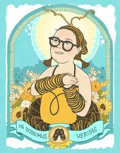 Bee Girl - 8x10 Archival Print