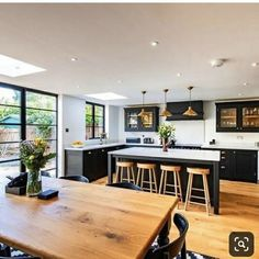 Kitchen Room Design, Dining Room Design, Home Decor Kitchen, Interior Design Kitchen, Kitchen Furniture, New Kitchen, Home Kitchens, Family Kitchen, Kitchen Ideas