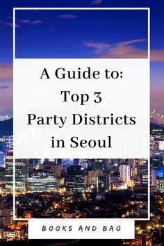 Visiting Seoul and wondering where to go for the perfect night out? Looking for the best bars, clubs, and live music in Seoul? There are three districts in Korea's capital that you must visit, and here is a complete guide to all three! South Korea Travel, Asia Travel, Food Travel, Travel Trip, Budget Travel, Travel Advice, Travel Guides, Pictures Of England, Visit Seoul