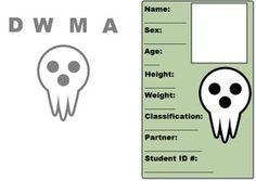 [Soul Eater OC Blank ID by ~Darkdood on deviantART] wanna join my dmwa board?♥