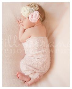 @Verla Bell, check out this little baby girl headband! it's big, but it's beautiful!