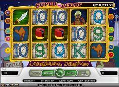 Arabian Nights slotspel gratis #ArabianNights #slotspelgratis