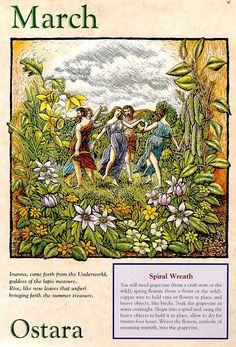 The wheel of the year, part 5: ostara « Urban Herbwifery