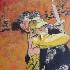 "American Art - Thornton Utz: ""The Boy Who Stayed Behind"", 1960 Cosmopolitan Original Illustration Art American Illustration, Illustration Art, Commercial Art, Boys Who, American Art, Art Forms, Vintage Art, Illustrators, First Love"